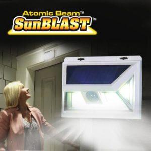 Solar-Powered Security Light