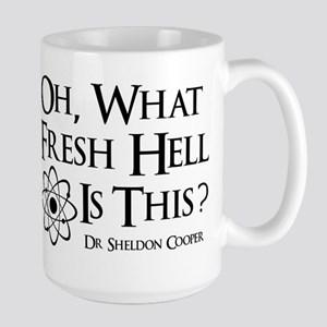 Fresh Hell Coffee Cup