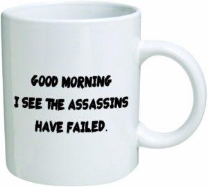 Assassin Coffee Mug