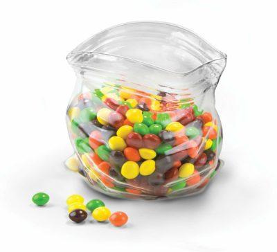 "Plastic ""Bag"" Glass Bowl"