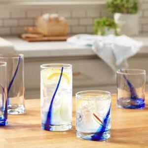 Blue Flair Glassware