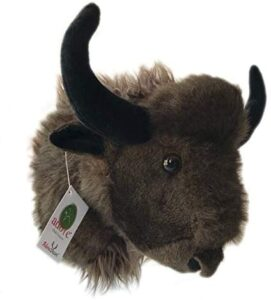 Stuffed Toy Wall Mount Buffalo