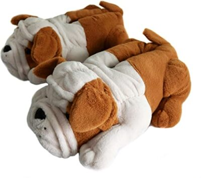 Bulldog Slippers