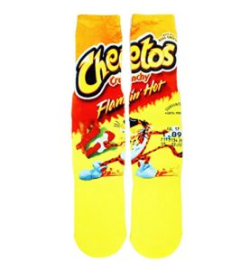 Cheetos Socks