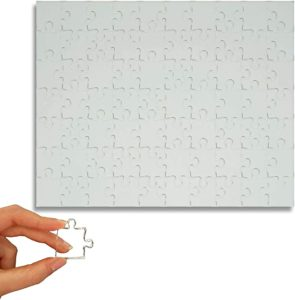 Clear Jigsaw Puzzle