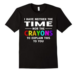 Time and Crayons