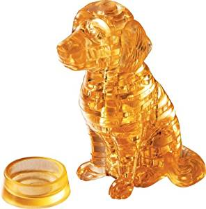 3D Crystal Dog Puzzle