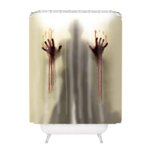 Bloody Halloween Curtain