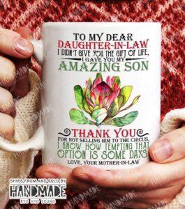 Daughter-in-Law Circus Mug