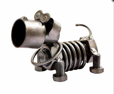 Metal Dog Figurine