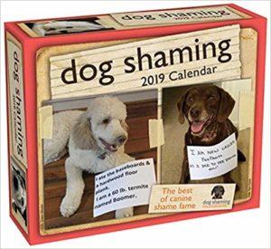 Dog Shaming 2019 Calendar