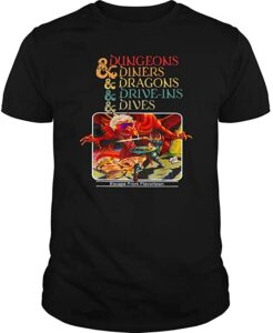 Guy Fieri Dungeons, Diners, Dragons, Drive-Ins and Dives T-Shirt