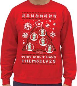 Jeffrey Epstein Ugly Christmas Sweater