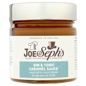 Gin & Tonic Caramel Sauce