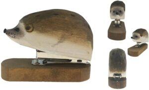 Wooden Hedgehog Stapler