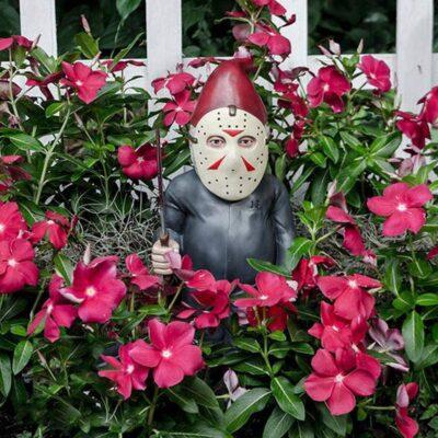 Horror Movie Garden Gnome