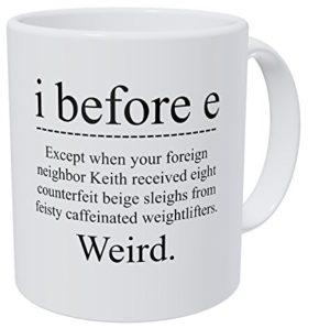 Spelling/Grammar Coffee Mug