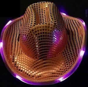 LED Cowboy Hat