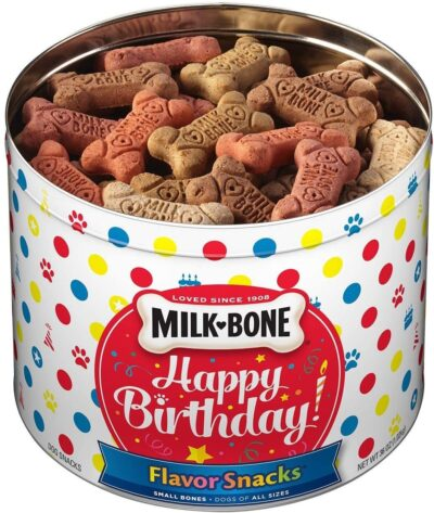 Milkbone Birthday Tin