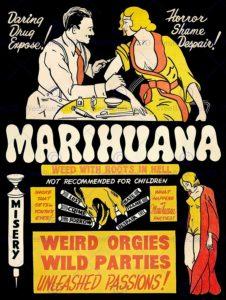 Retro Marijuana Posters