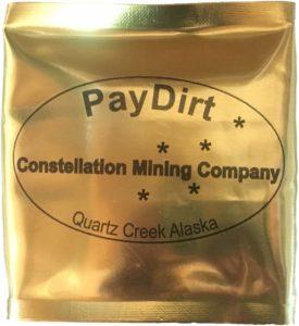 Alaskan Gold Panning Paydirt