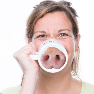 Pig Nose Coffee Mug