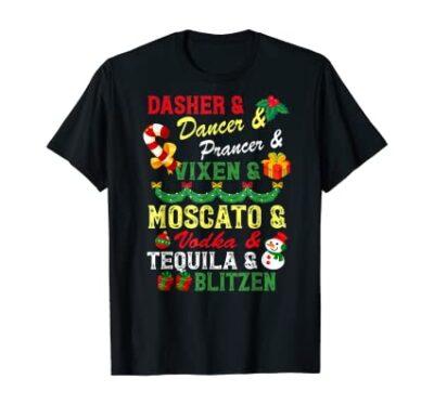Reindeer & Alcohol TShirt
