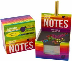Rainbow Scratch-Off Notepad
