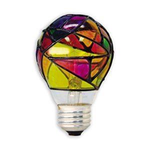 Stained Glass Lightbulb