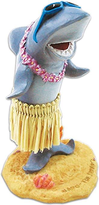Hula Shark Dashboard Doll