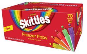 Skittles Freezer Pops