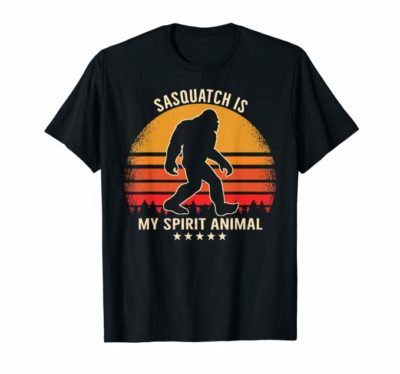 Sasquatch is My Spirit Animal