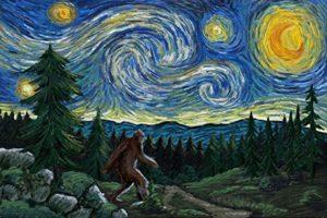 Starry Night and Bigfoot
