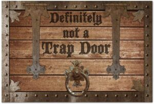 Trap Door Doormat