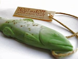 Trout on a Rope Soap
