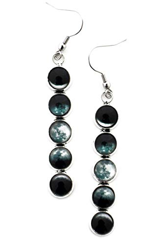 Phases of the Moon Earrings