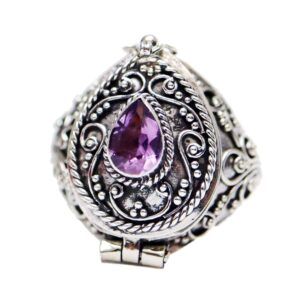 Vintage Style Poison Ring